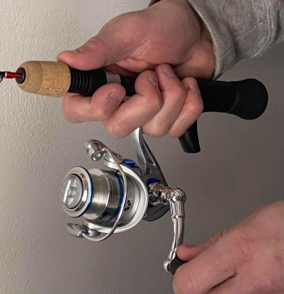 Spinning rods, Ice Fishing